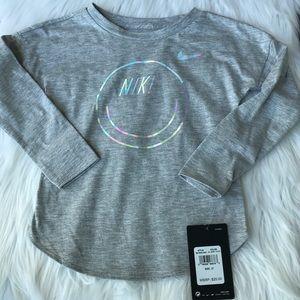 NWT Nike Kids Irridescent Long Sleeve TShirt ... 50f92324c
